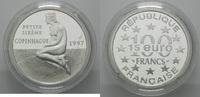 100 Francs / 15 Euro 1997, Frankreich, 'Die kleine Meerjungfrau' in Kop... 29,00 EUR kostenloser Versand