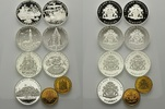 Lot Medaillen 1989, Deutschland Hamburg, Lot 7 Stück, Silbermedaillen 8... 79,00 EUR kostenloser Versand