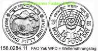 50 Ngultrum 1981 Bhutan *31 FAO WFD-1981 Yak unc  39,50 EUR  zzgl. 4,75 EUR Versand
