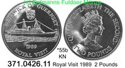 Guernsey 2 Pounds 1989 unc *55 KM52 Schiff...