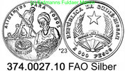 20.000 Pesos 1994 Guinea Bissau *23 KM41 50 Jahre FAO . 374.0027.10  PP  45,00 EUR