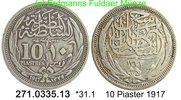 10 Piaster 1917 Ägypten Egypt *31.1 KM319 Fadenkreis . 271.0335.13  ss  25,00 EUR  zzgl. 4,75 EUR Versand
