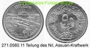 50 Piaster 1964 Egypt Ägypten *110 KM407 Assuanstaudamm . 271.0560.11  ... 25,00 EUR  zzgl. 4,75 EUR Versand