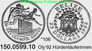 25 Dollars 1992 Belize *105 KM106 . 150.0599.10  PP  22,50 EUR  zzgl. 4,75 EUR Versand