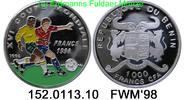 1000 Franc  1996 Benin(Dahomey) *37 KM20 . 152.0113.10  PP  32,50 EUR  zzgl. 4,75 EUR Versand