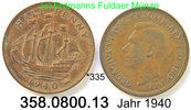 Great Britain Großbritannien 1/2 Penny *335 . . .