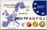 5x3,88 Euro 2004 ADFGJ Deutschland BRD Germany Kursmünzensatz 2004 ADFG... 74,00 EUR  zzgl. 6,50 EUR Versand