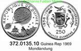 250 Francs 1969 Guinea Rep. Guinea Conakry  *14 KM12 Mondlandung . 372.... 38,50 EUR  zzgl. 4,75 EUR Versand