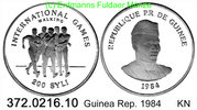 Guinea Rep. Guinea Conakry 200 Syli 1984 P...