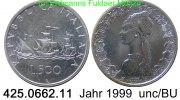 500 Lire 1999 Italy Italien *97 KM98 Kolumbusflotte . 425.0662.11 unc/BU  29,00 EUR  zzgl. 4,75 EUR Versand