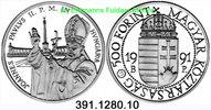 500 Forint 1991 Hungary Ungarn *190 Papst Johannes Paul II. Papstbesuch... 39,00 EUR  zzgl. 4,75 EUR Versand