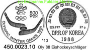 Korea North Nordkorea 500 Won 1988 PP *13 ...