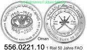 1 Rial 1995 Oman *112 FAO 50 Jahre . 556.0221.10  PP  43,50 EUR
