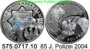 10 Zkoty 2004 Poland Polen *510 KMY 85 Jahre polnische Polizei . 575.07... 29,00 EUR  zzgl. 4,75 EUR Versand