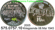 10 Zloty 2005 Poland Polen *548 KMY554 Farbmünze 08.Mai 1945 Kriegsende... 33,00 EUR  zzgl. 4,75 EUR Versand