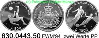 500 + 1000 Lire 1994 San Marino *316+*317 KM217,318 FWM´94 . 630.0443.5... 26,75 EUR  zzgl. 4,75 EUR Versand