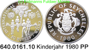 50 Rupees 1980 Seychelles Seschellen *42 KM42 Kinderjahr PP  24,50 EUR  zzgl. 4,75 EUR Versand