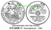 1000 Escudos 1998 Portugal *218 Expo´98 . 579.0836.11 unc  22,00 EUR  zzgl. 4,75 EUR Versand