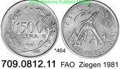 1500 Lira 1981 Turkey Türkei *464 KM947 FAO WFD Ziegen  unc  25,00 EUR  zzgl. 4,75 EUR Versand