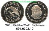 PP 1986 Tonga *108 WWF Buckelwal . PP  38,00 EUR  zzgl. 4,75 EUR Versand