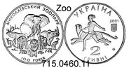 2 Hryvni 2001 Ukraine  . *138  Dschungelbuch Tiger usw. unc  23,50 EUR  zzgl. 4,75 EUR Versand