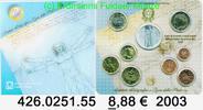 8,88 Euro 2003 Italien Kursmünzensatz 2003 original . 426.0251.55  unc  54,75 EUR  zzgl. 6,50 EUR Versand