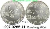10 Euro 2004 Finnland *121 KM115 Runeberg unc / BU  38,00 EUR