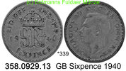 Großbritannien Great Britain 6 Pence *339 KM852 . 358.0929.13