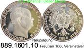Vereinstaler 1860 Deutschland Preußen AKS78 Nachprägung . 889.1601.10  ... 25,00 EUR  zzgl. 4,75 EUR Versand