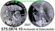 10 Zloty 2007 Poland *636 KMY601 Schiff Arctowsky & Dobrowolski . 575.0... 109,00 EUR  zzgl. 6,50 EUR Versand