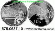 10 Zloty 2002 Poland *446 KMY434 FWM Korea-Japan . 575.0637.10  PP  25,00 EUR  zzgl. 4,75 EUR Versand