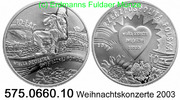 10 Zloty 2003 Poland *460 KMY453 Weihnachtskonzerte . 575.0660.10  PP  40,00 EUR  zzgl. 4,75 EUR Versand
