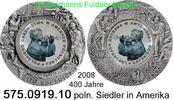 10 Zloty 2008 Polen Poland polnische Siedler in Amerika . 575.0919.10 u... 29,00 EUR  zzgl. 4,75 EUR Versand