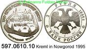 3 Rubel 1995 Russland *417 KMY468 Kreml in Nowgorod . 597.0610.10 PP  34,75 EUR