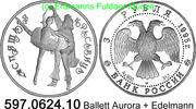 3 Rubel 1995 Russland *425 KMY394 Ballett Aurora + Edelmann . 597.0624.... 49,75 EUR  zzgl. 4,75 EUR Versand