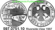 3 Rubel 1997  *535 KMY553 850 Jahre Moskau . 597.0751.10 PP  40,00 EUR