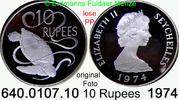 1974 Seychellen *20a KM20a  Elisabth II. PP lose  34,95 EUR  zzgl. 4,75 EUR Versand