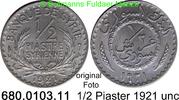 1/2 Piastre 1921 Syrien *1 KM68  Erhaltung unc  16,00 EUR  zzgl. 4,75 EUR Versand