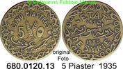 5 Piastres 1935 Syrien *3 KM70 ss  6,00 EUR  zzgl. 4,75 EUR Versand