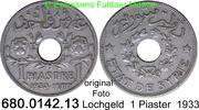 1 Piastre 1933 Syrien *5 KM71 Lochgeld kleinster Jahrgang ss  6,00 EUR  zzgl. 4,75 EUR Versand