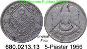 5 Piaster 1956 Syrien *13 KM82 ss  2,00 EUR  zzgl. 4,75 EUR Versand