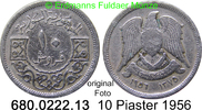 10 Piaster 1956 Syrien *14 KM83 ss  2,00 EUR  zzgl. 4,75 EUR Versand