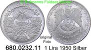 1 Lira 1950 Syrien *17 KM85 Erhaltung unc  29,75 EUR  zzgl. 4,75 EUR Versand