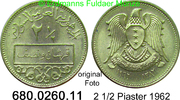 2 1/2 Piastres 1962 Syrien *26 KM93 unc  3,00 EUR  zzgl. 4,75 EUR Versand