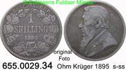 1 Shilling 1895 Südafrika *5 KM5 s-s-  24,75 EUR  zzgl. 4,75 EUR Versand