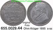 1 Shilling 1895 Südafrika *5 KM5 s-ss  24,75 EUR  zzgl. 4,75 EUR Versand