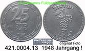 25 Mils 1948 Israel *1 KM8 Jahrgang s-ss  85,00 EUR  zzgl. 6,50 EUR Versand