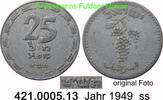 25 Mils 1949 Isreal *1 KM8 ss  45,00 EUR  zzgl. 4,75 EUR Versand