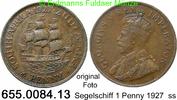 1 Penny 1927 Südafrika *22 KM14.2 Segelschiff ss  9,00 EUR  zzgl. 4,75 EUR Versand