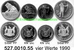 22 Dollars 1990 Namibia Münzensatz vier Werte PP + unc  299,75 EUR  zzgl. 6,50 EUR Versand